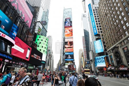 Times Square on day time