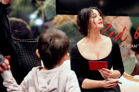 Photo for 12.03.2014. Monica Bellucci at the opening of the corner of Dolce & Gabbana in Cum. Moscow - Royalty Free Image