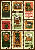 Poštovní známky pro Patrika