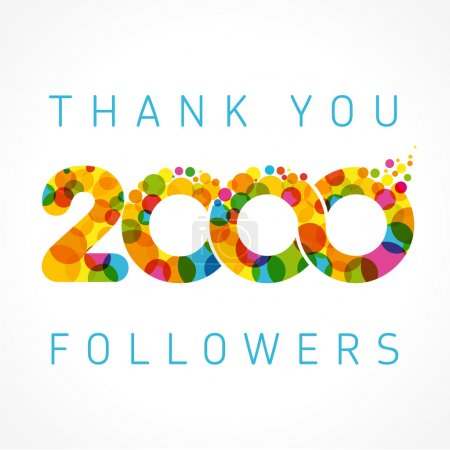 Thank you 2000 followers numbers. Congratulating m...