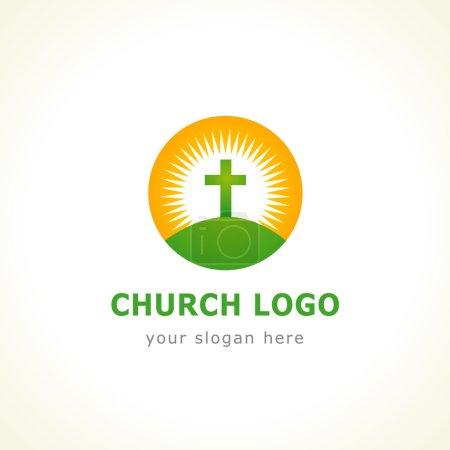 Calvary cross church logo