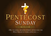 Pentecost sunday card