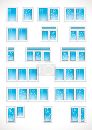 Different windows web icons.