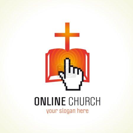 Online church logo