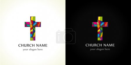 Church cross  color