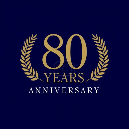 80 anniversary royal logo