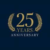 25 anniversary royal logo