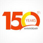 150 years anniversary logo