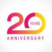 20 anniversary classic logo