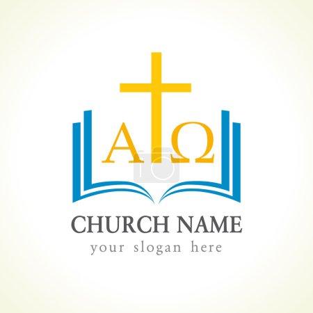 Alpha and Omega church logo