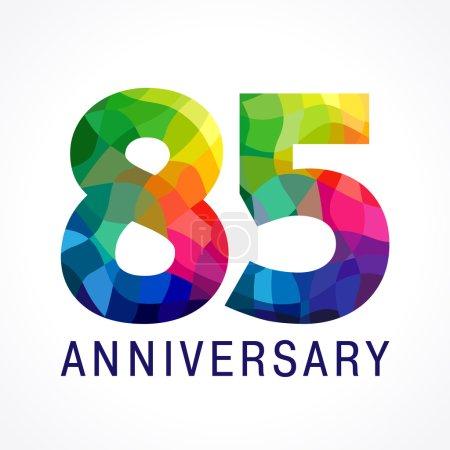 85 anniversary colored logo.