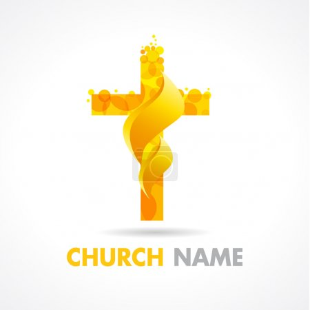 Church fire logo