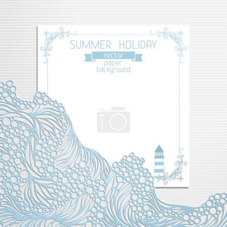 Paper summer design.
