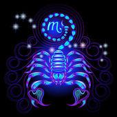 Neon signs of the Zodiac: Scorpio