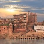 A view of holy ghats of Varanasi...