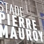 Постер, плакат: Close up view of new Pierre Mauroy football stadium