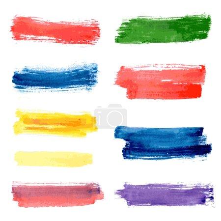 stripes watercolor