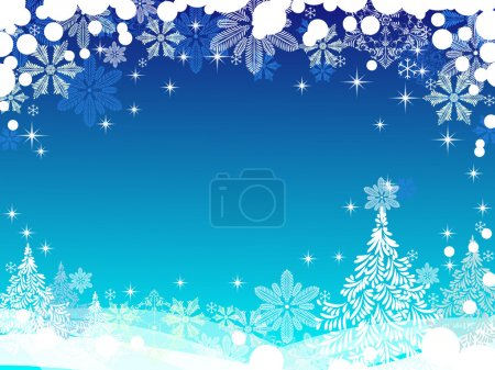 Christmas and New Year background with place for text