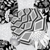 vector seamless patchwork pattern slavs or russian design