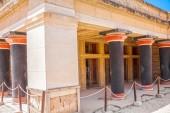Column gallery of Knossos