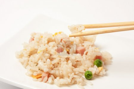 Chinese rice with vegetables