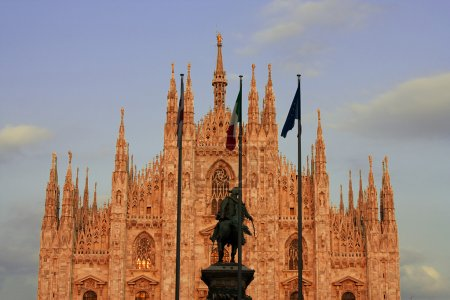 Old Milan Cathedral