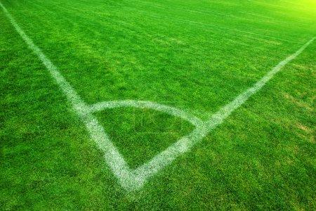 Corner of Soccer Field