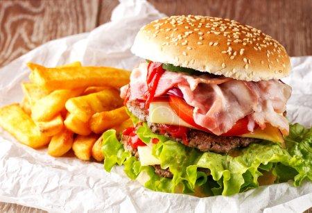 big Fresh Hamburger