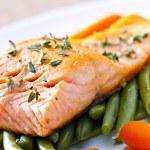 Постер, плакат: deliciousFillet of Salmon