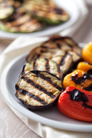 Grilled  organic Vegetables