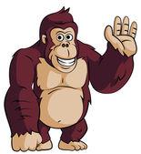 Kreslený gorila