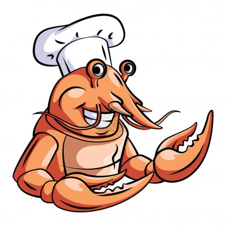 Funny Lobster Chef