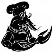 Lobster Chef tattoo