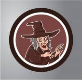 Witches Circle sticker