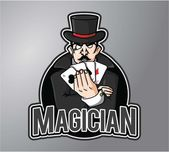 Magician design vector illustration