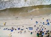 People on Bahia Beach, Brazil