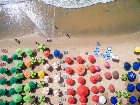 Umbrellas on Boa Viagem Beach