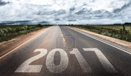 2017 written on rural road