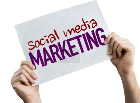 social media marketing plakat