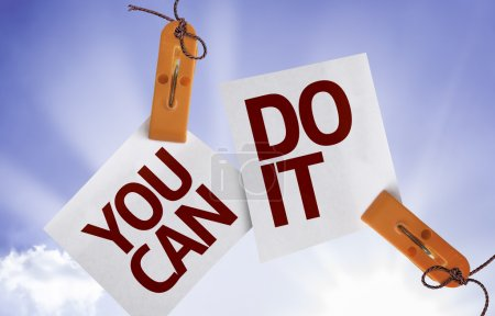 You Can Do It on Paper Note