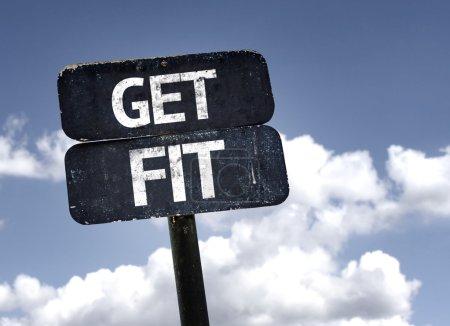Get Fit sign