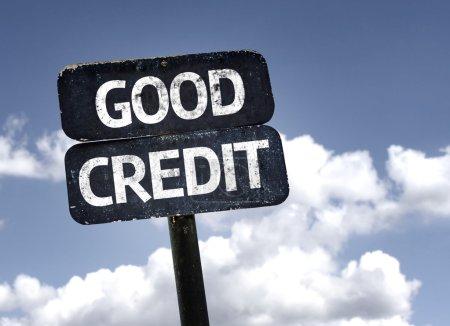 Good Credit sign
