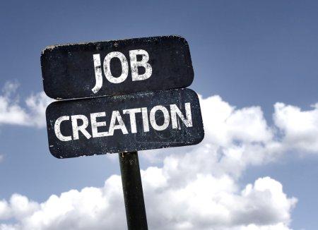 Job Creation sign
