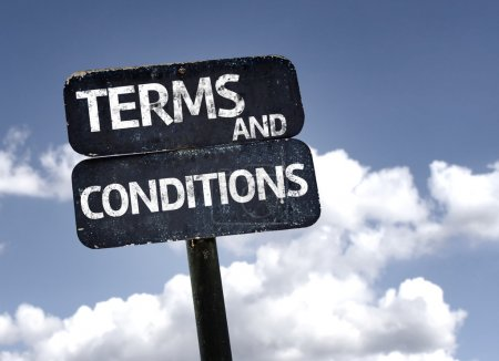 Terms and conditions   sign