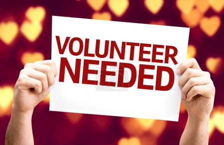 Volunteer Needed card