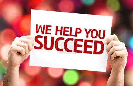 We Help You Succeed card