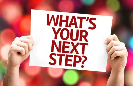 What's Your Next Step? card