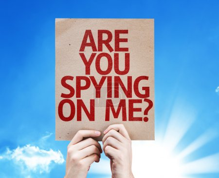 Are You Spying On Me? card