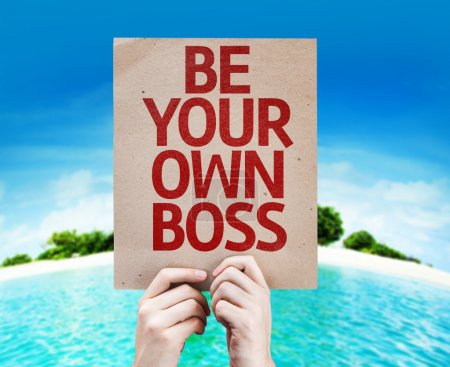 Be Your Own Boss card