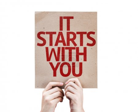It Starts With You card